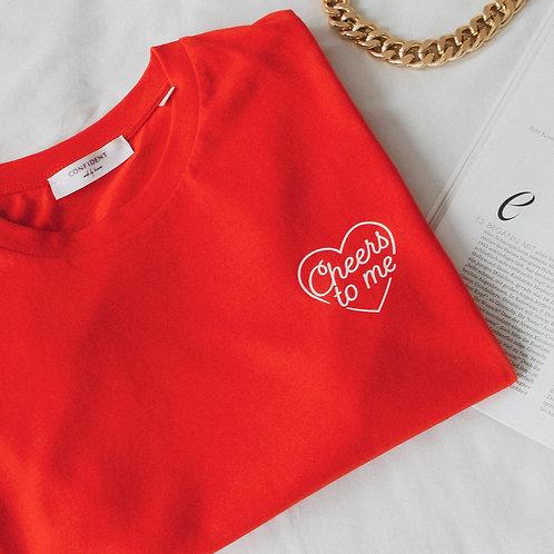 CHEERS T-Shirt Rot