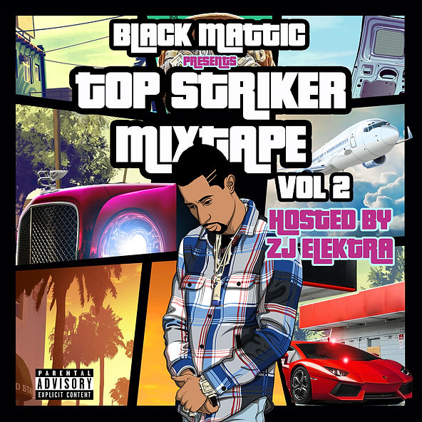 Top Striker Mixtape Vol. II Official Cov