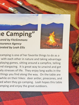 Gone Camping by Fitzsimmons Insurance an