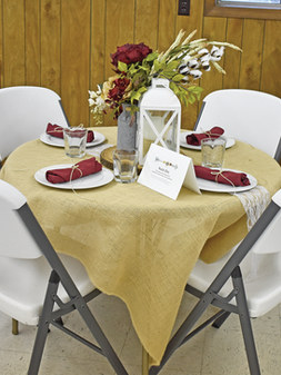 Rustic Chic sponsored by Hilltop Manor w