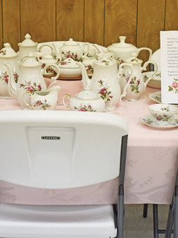 Japanese Tea Rose Set by Rogene Jarmer.j