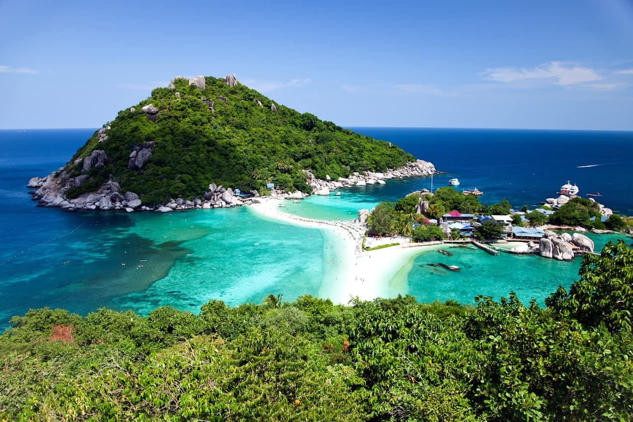 Atração turística ilha Koh Tao, Tailândi