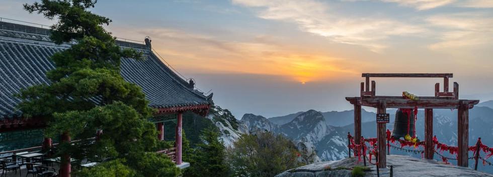 Monte Hua Shaanxi Montanha Sagrada China