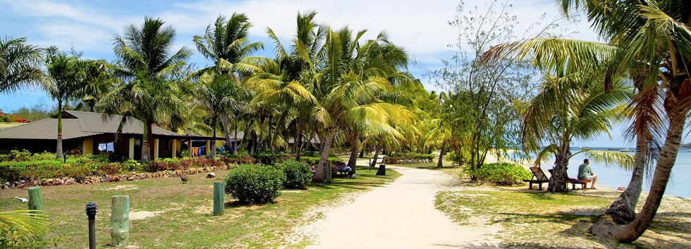 Praia ilha tropical Malolo Lailai, lhas