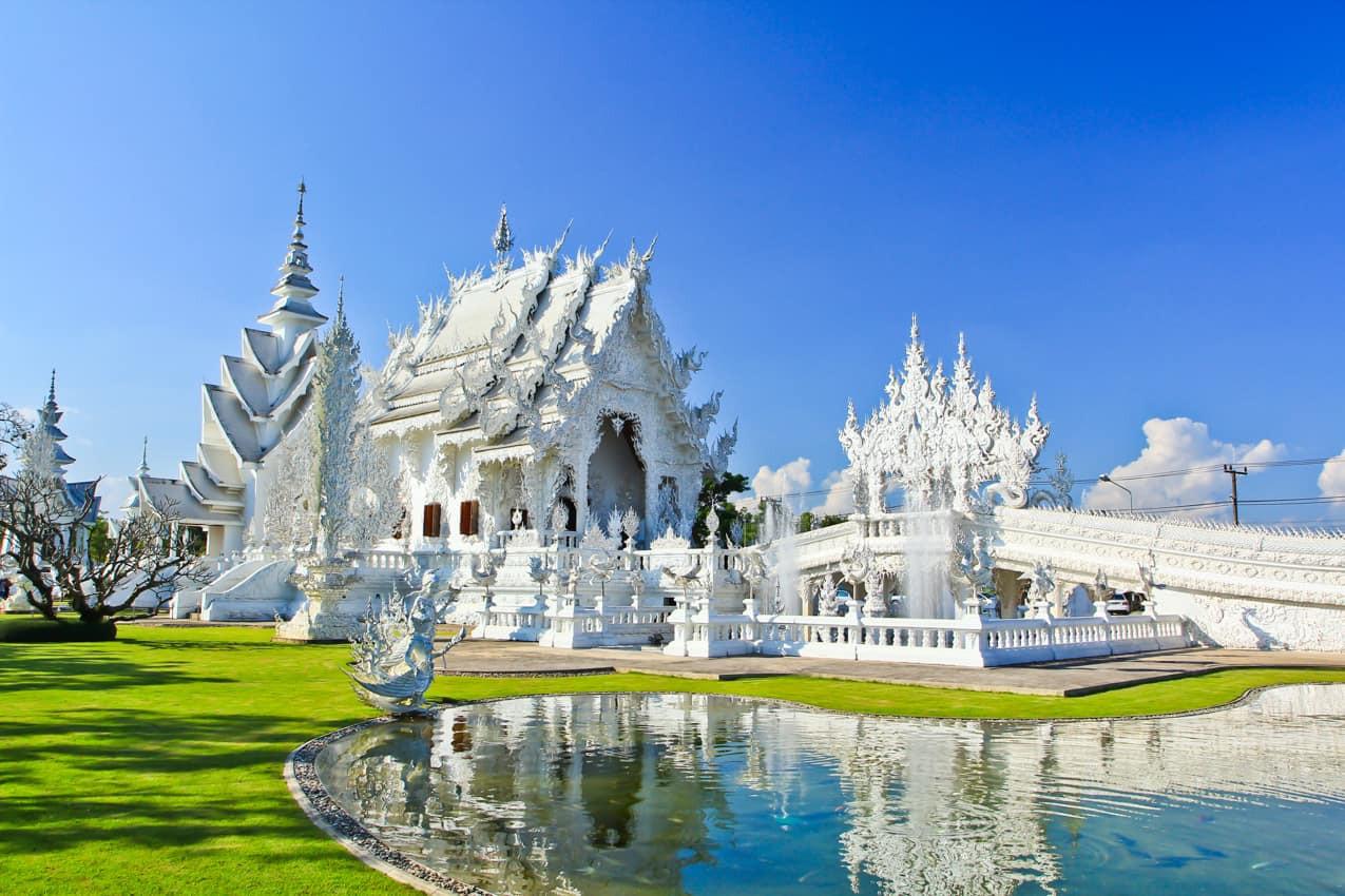 Wat Rong Khun, o famoso Templo Branco, e