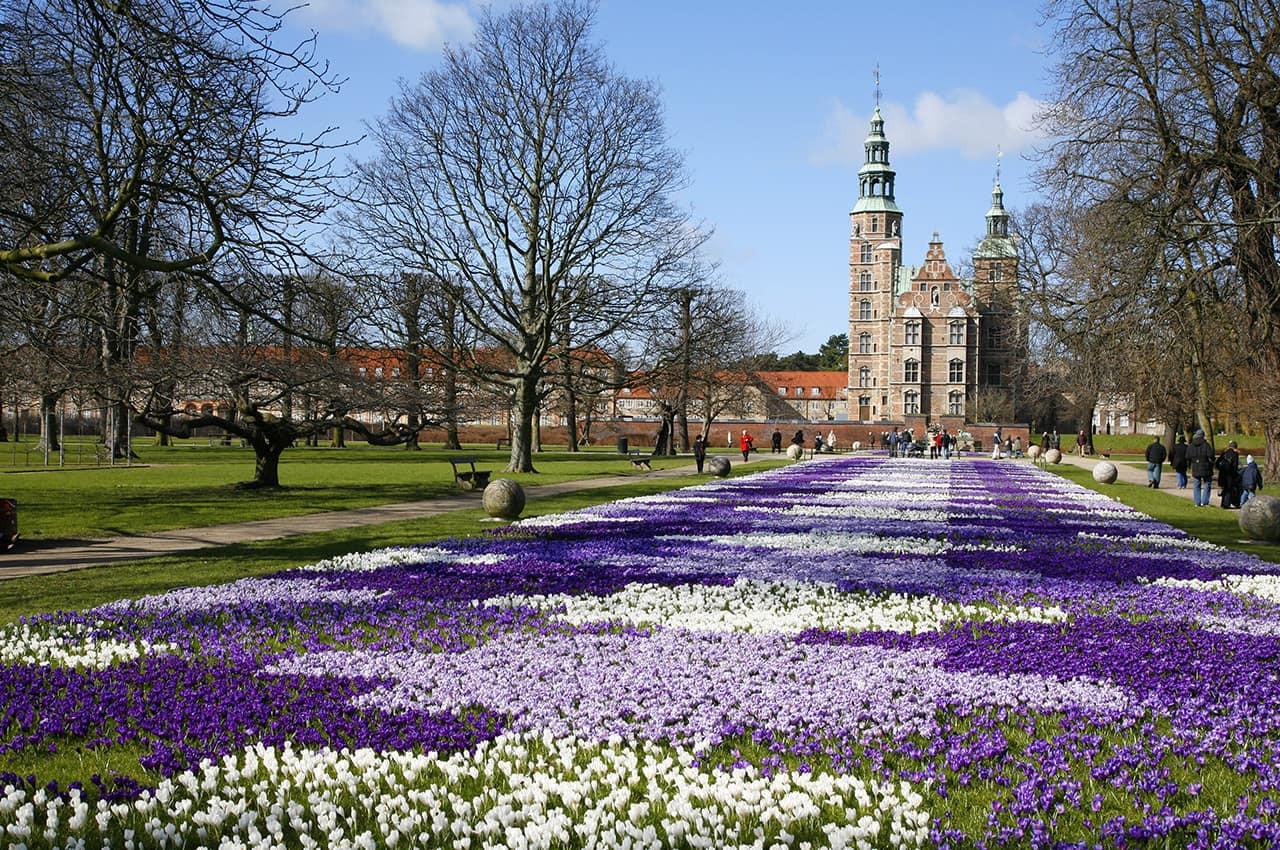 Primavera no Castelo de Rosenborg - Cope