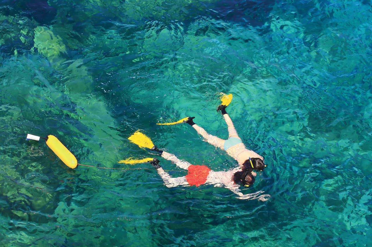 Atividades nas Ilhas Mauricio - Snorkell