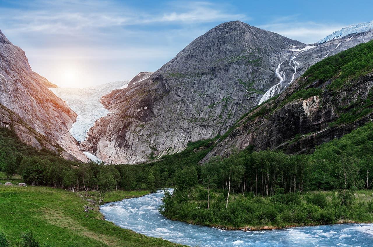 Glacial Briksdal - Noruega..jpg