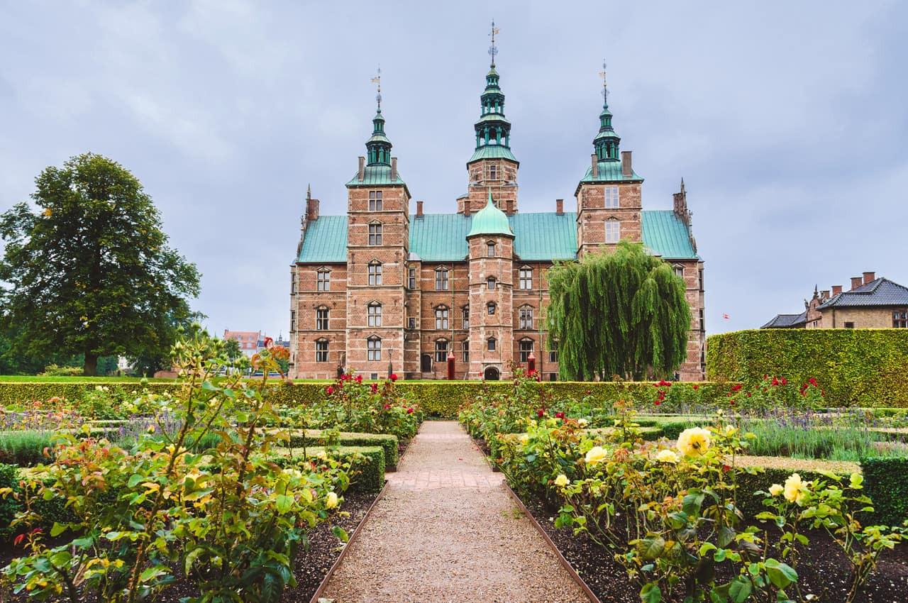 Castelo de Rosenborg - Copenhagen, Dinam