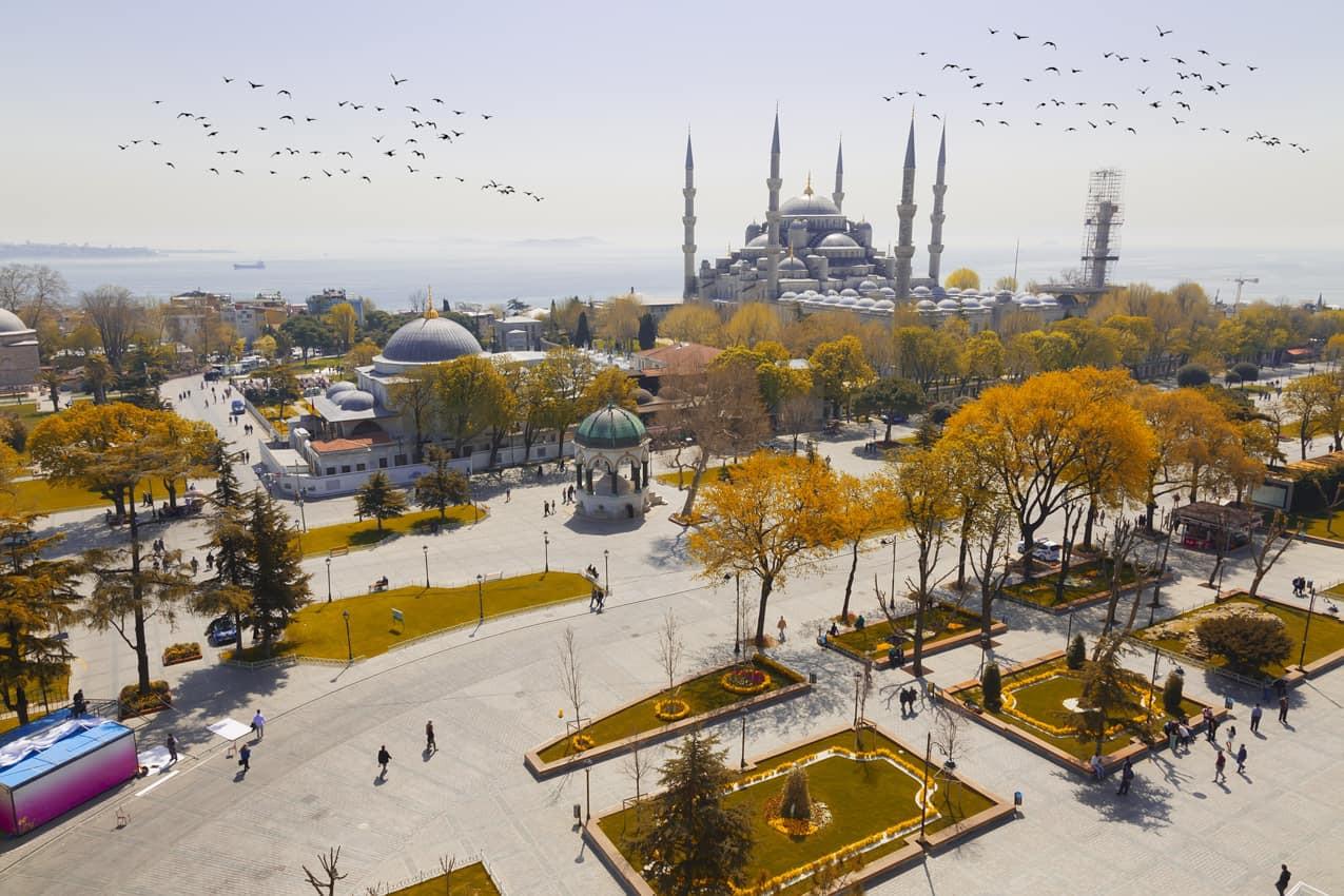 Mesquita Santa Sofia, Istambul, Turquia.