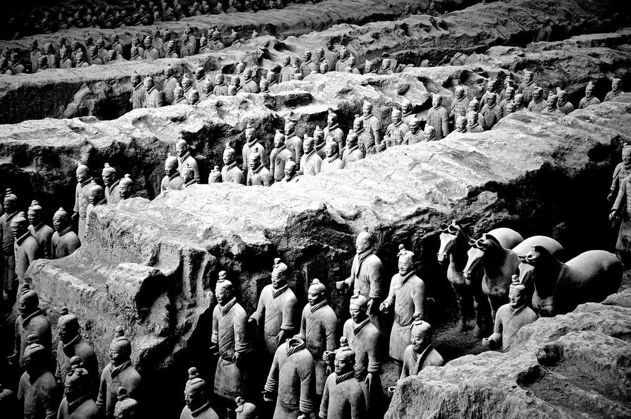 Museu Guerreiros de Terracota, Xian, Chi