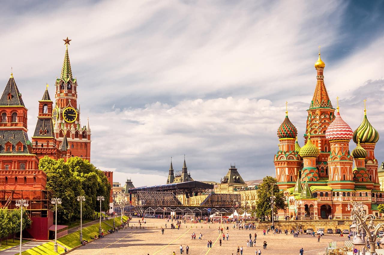 Praça Vermelha - Moscou, Rússia..jpg