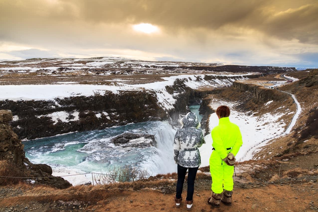 Atração turística Cachoeira Gullfoss, Is