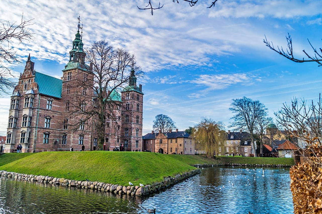 Vista do Castelo Rosenborg - Copenhagen,