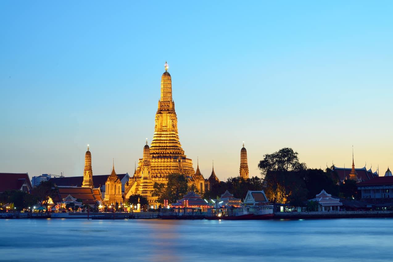 Atração turística Templo Wat Arun Bangko