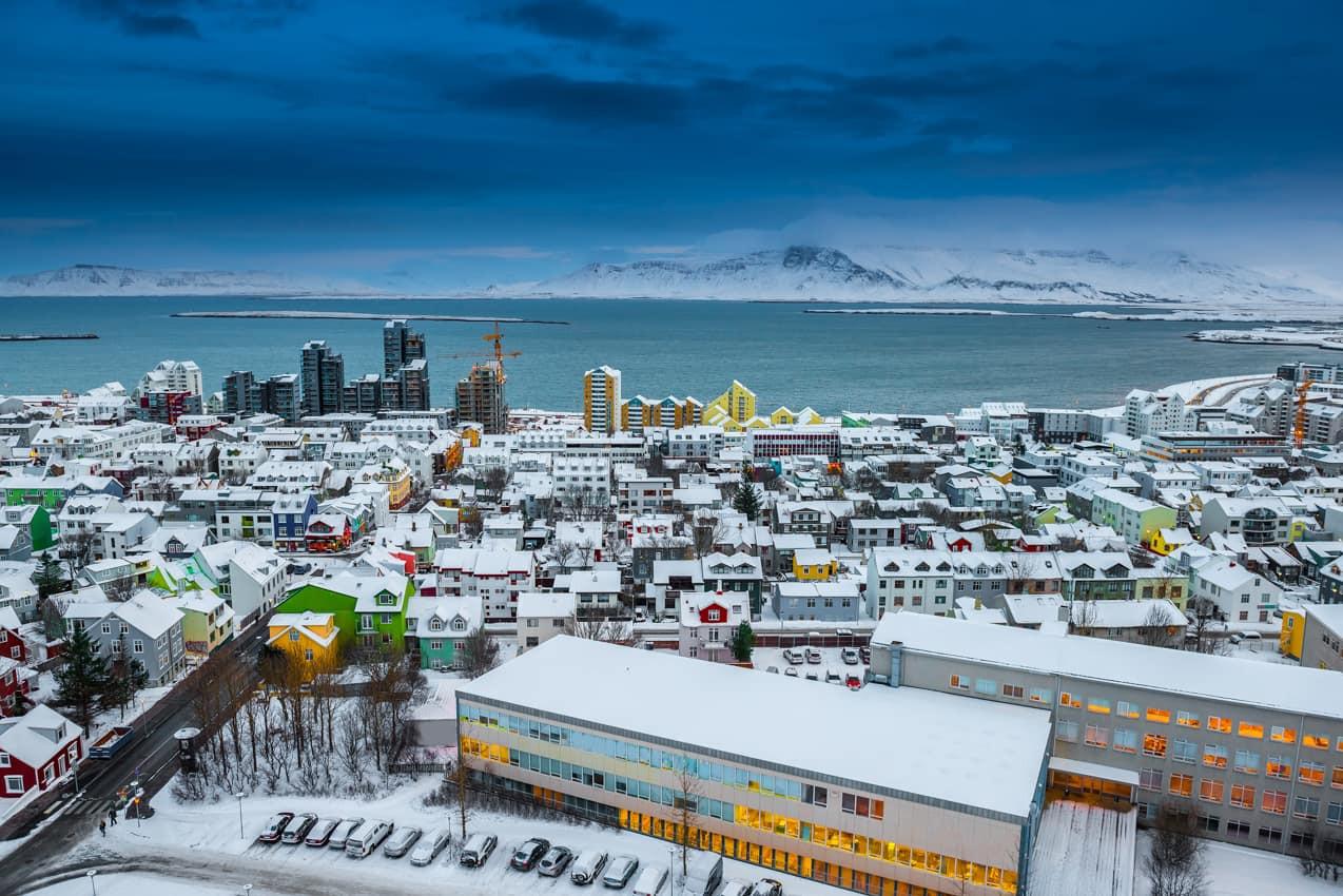 Viagem_Islândia_vista_capital_Reykjavik.