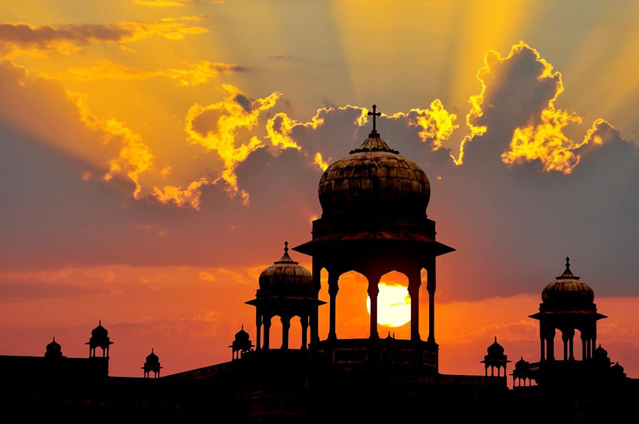 Pôr do sol Rajastão, Índia.jpg