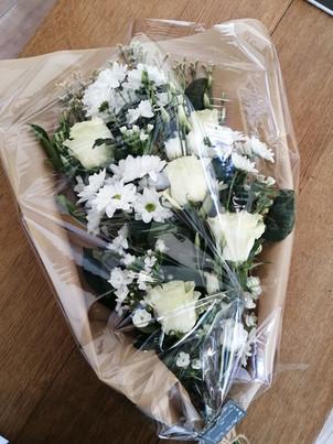 Bouquet deuil § Fleurs Vagabondes