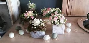 Composition Pâques § Fleurs Vagabondes