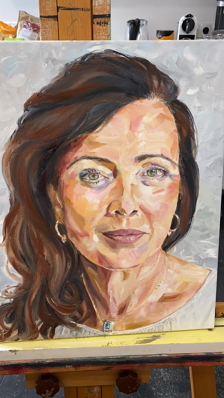 portret diri