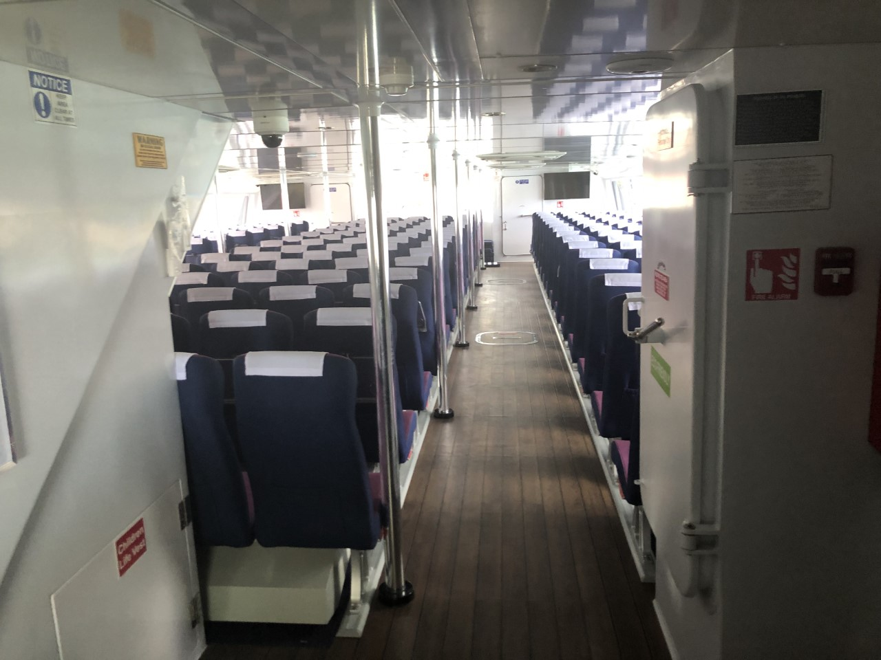 Sea Express II Seating