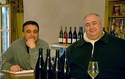Michel Tardieu and Philippe Cambie