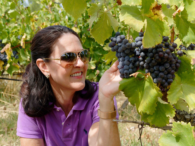 Michèle & Grapes