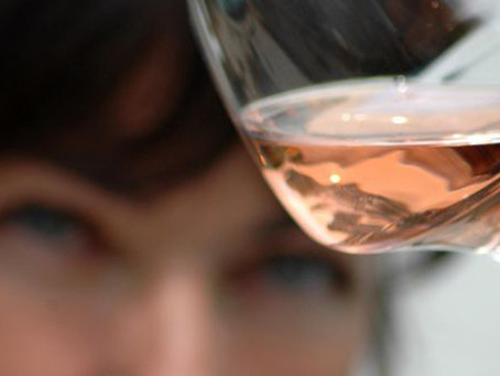 Aromas in rosé not found in grapes!