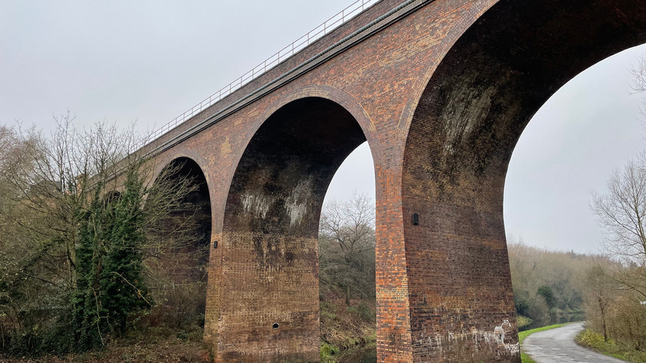 A viaduct repaired!