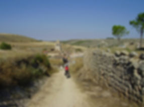 Hontanas, tramo Burgos-Leon