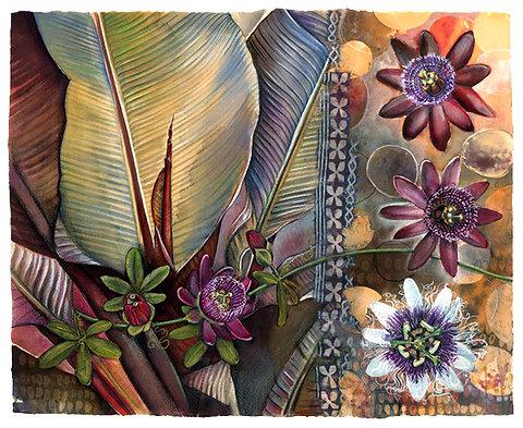 Passiflora Fauna Rose Designs