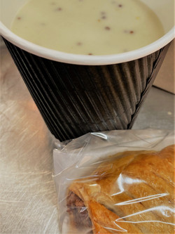 Lunch in a Bag Takeaway - Homemade Sausa