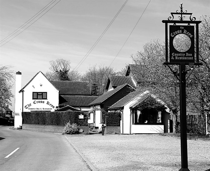 the cross keys stow