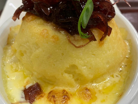 cheese soufflé starter