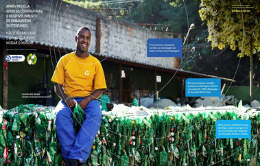 Ambev | Programa Ambev Recicla