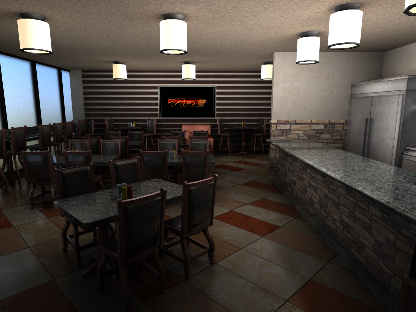 Cafe Conceptual Design