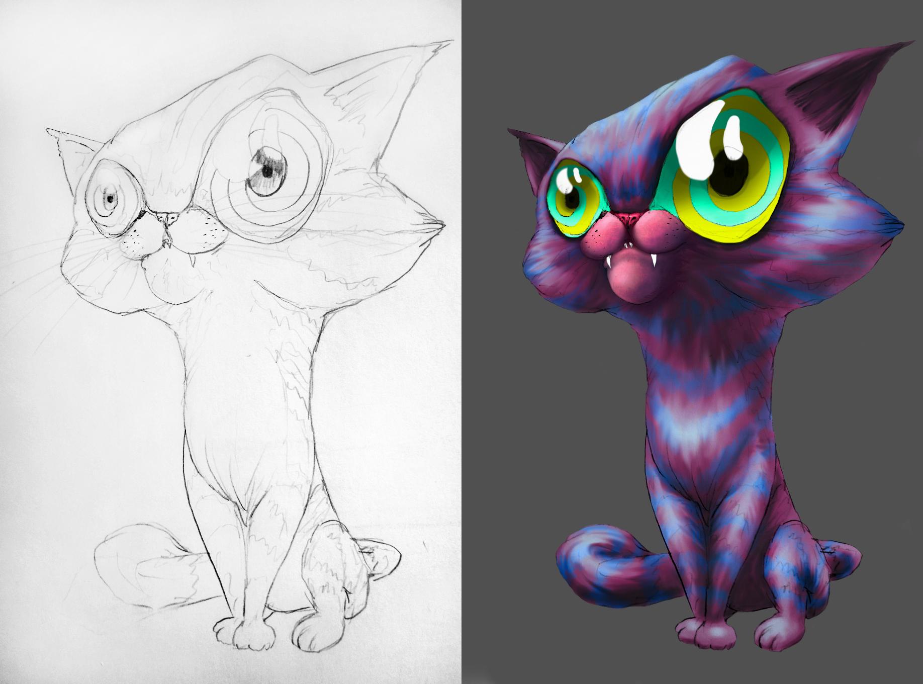 Cheshire Cat WIP