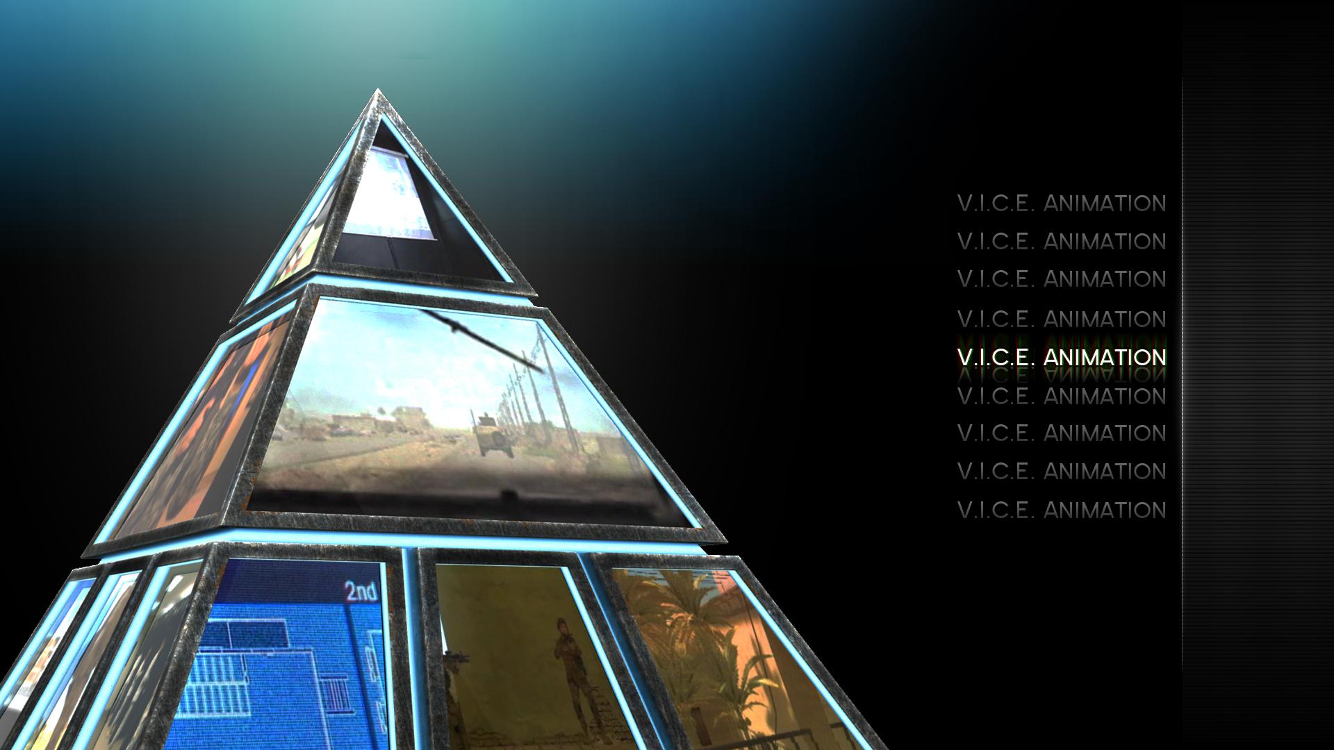 V.I.C.E. Pyramid Menu