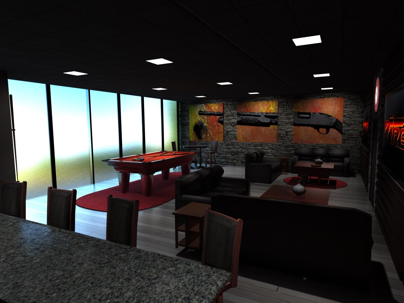 VIP Lounge Conceptual Design