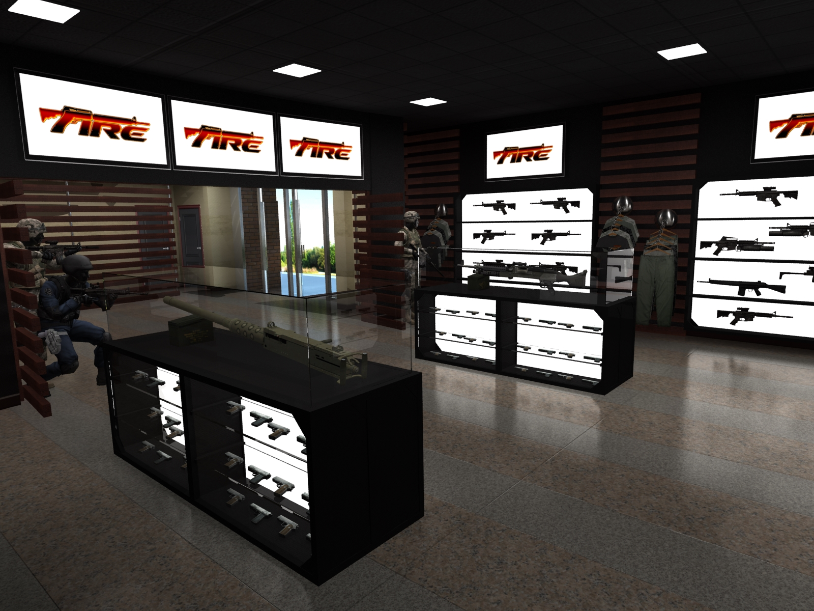 Pro Shop Concept
