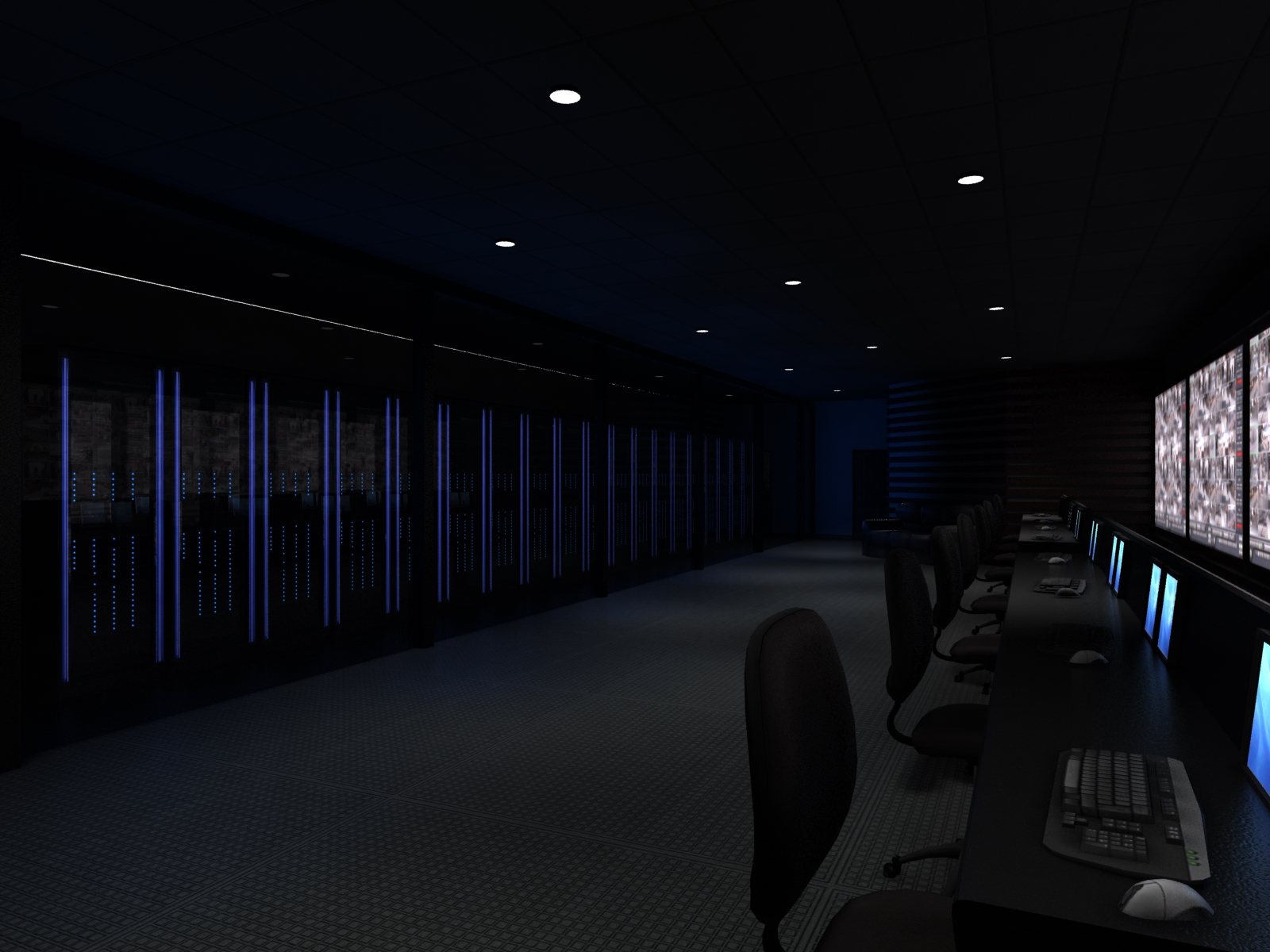 Server Room Conceptual Design
