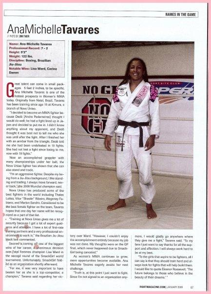 Revista Fight Magazine USA 2009