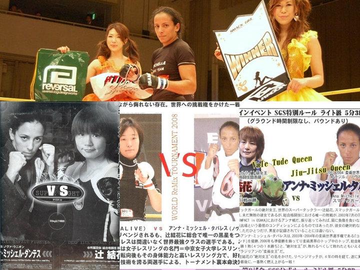 Michelle Tavares - MMA JAPÃO