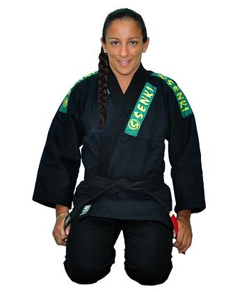 Kimono Preto Senki Brasil Infantil