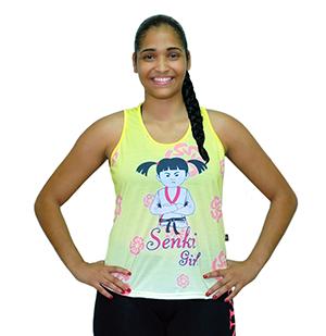 Regata Senki Active Girl Amarela