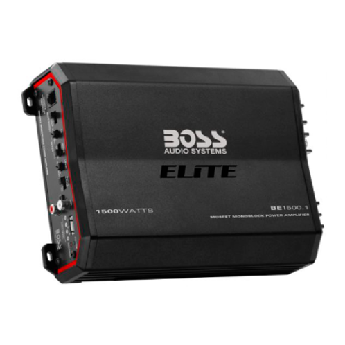 Boss Elite BE1500.1 1500 Watt Mono Amplifier Car Stereo Class AB Amp