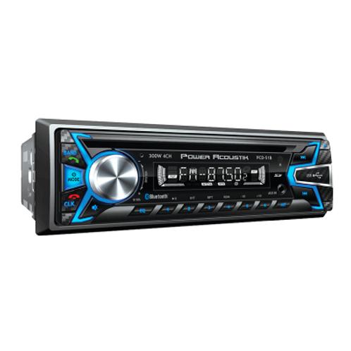 Power Acoustik 1 Din Card Mp3 300 Watt Digital Am/Fm Stereo