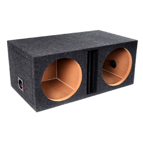 "Atrend E15D - 15"" B Box Series 2-Holes Sealed Subwoofer Box"