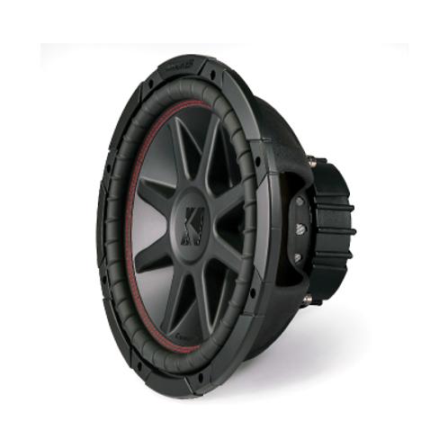 """Kicker CompVR 43CVR124 12"""" subwoofer with dual 4-ohm voice coils"""