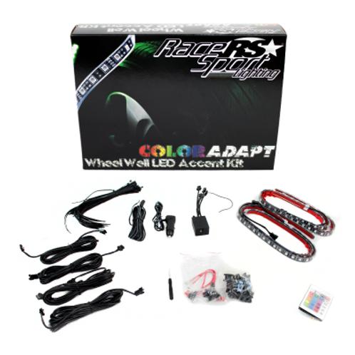 Race Sport RSWWKIT Adaptive RGB LED Wheel Well Kit